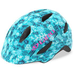 Giro Scamp Helmet Kinder matte blue/floral